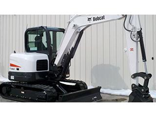 山猫 E63 挖掘机图片