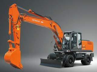 原装日立 ZX210W-3 挖掘机