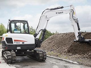山猫 E85 挖掘机