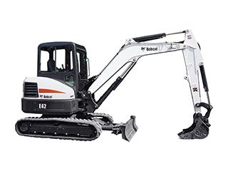 山猫E42挖掘机