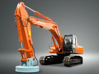 原裝日立 ZX330LC-3起重磁鐵式 挖掘機圖片