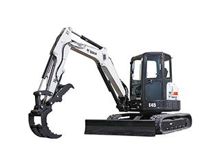 山猫E45挖掘机