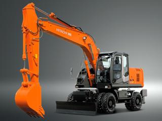 原装日立 ZX190W-3 挖掘机
