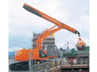 原装日立 ZAXIS200LC伸缩型蛤壳式抓斗 挖掘机