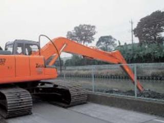 原裝日立 ZAXIS330-LC超長前端河道整修作業用 挖掘機圖片