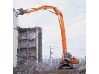原装日立 ZAXIS210LCK-HL200破碎装置专用型延长臂拆除 挖掘机