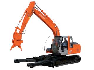 原装日立 ZAXIS120万能解体抓取用 挖掘机