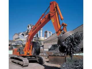 原装日立 ZAXIS120起重磁铁式 挖掘机