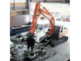 原裝日立 ZAXIS200汽車解體用切斷型 挖掘機圖片