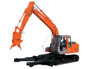 原装日立 ZAXIS120万能解体切断用 挖掘机