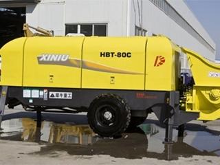 犀牛重工 HBT-80C 拖泵