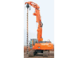 原装日立 SRX3500-2后方超小回转型液压无导柱型基础工程用 挖掘机
