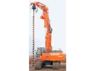 原装日立 SRX3500-LC-2后方超小回转型液压无导柱型基础工程用 挖掘机