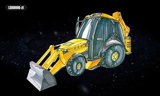 雷道机械 LD8800-ZL 滑移装载机