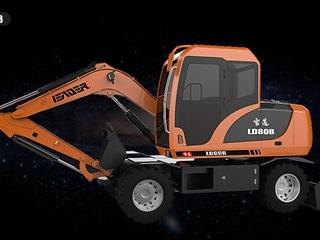 雷道机械 LD80B 挖掘机