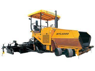 新筑股份 MTL6000伸缩加宽 沥青摊铺机