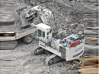 利勃海尔 R9350E 挖掘机
