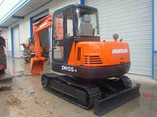 斗山 DH55-V 挖掘機圖片
