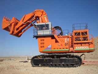日立EX2500E-5LD挖掘机
