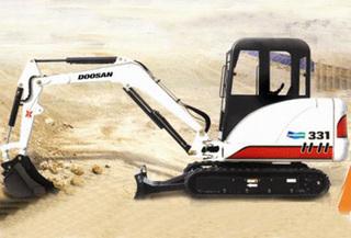 斗山 MX331 挖掘机