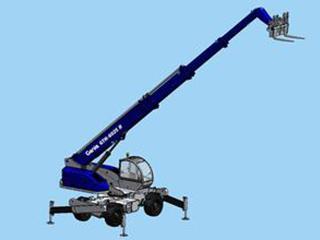 吉尼 GTH-6025R 伸缩臂叉车