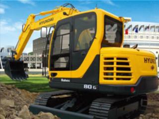 现代R80G挖掘机