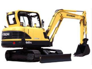 现代R60G挖掘机
