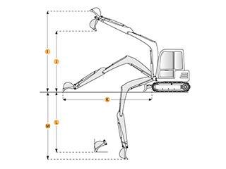 久保田 KX121-3 挖掘機圖片