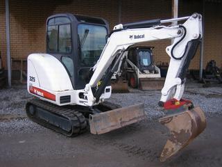 山猫 Bobcat325 挖掘机