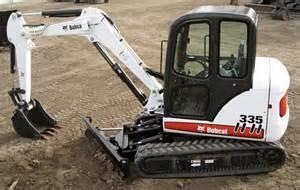 山猫Bobcat335挖掘机