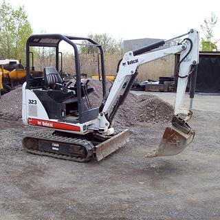 山猫Bobcat323挖掘机
