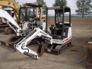 山猫 Bobcat320 挖掘机