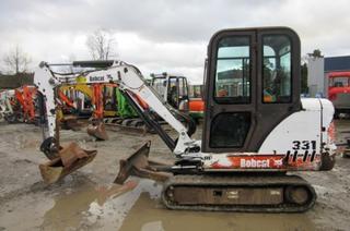 山猫Bobcat331L挖掘机
