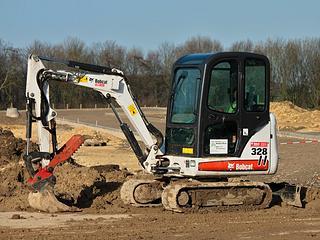 山猫 Bobcat328 挖掘机