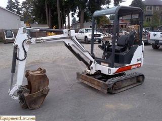 山猫Bobcat322挖掘机