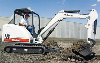 山猫Bobcat329挖掘机