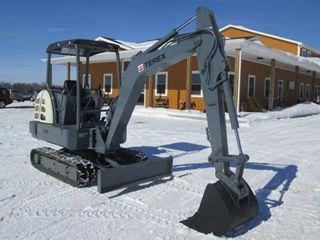 特雷克斯TC35E挖掘机