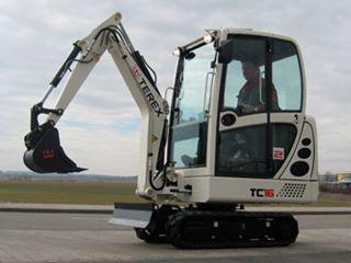 特雷克斯TC16挖掘机