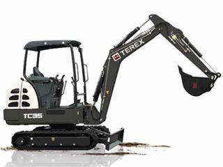 特雷克斯 TC35 挖掘机