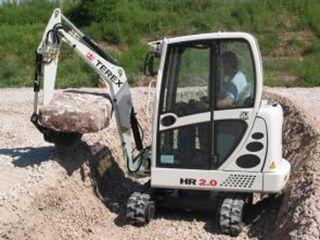 terexHR2.0挖掘机