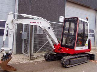 竹内TB035挖掘机