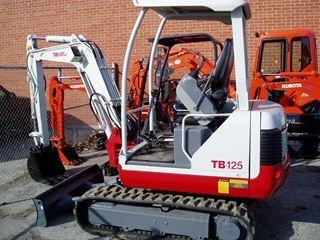 竹内 TB125 挖掘机