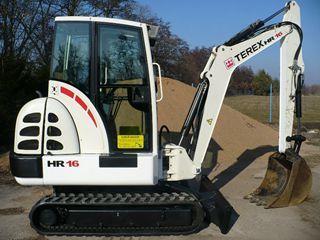 特雷克斯HR16挖掘机