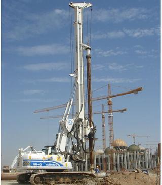 土力 SR-40 旋挖钻