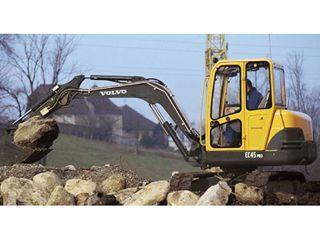 沃尔沃EC45挖掘机