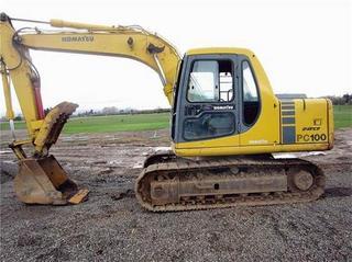 小松PC100-6挖掘机