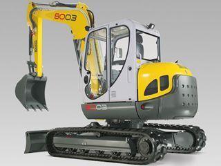 威克诺森 8003 挖掘机