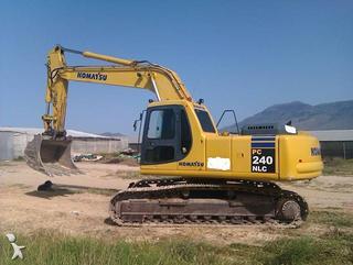 小松 PC240NLC-7 挖掘机图片