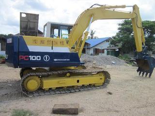 小松PC100-5挖掘机