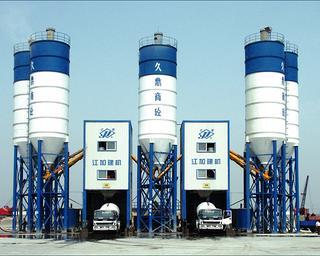 江加 HZS75 混凝土攪拌站圖片